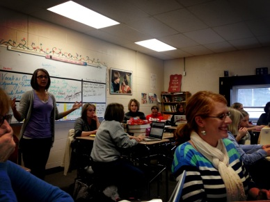 eLearning Coach Brooke Busse sharing all kinds of writing tech tools!